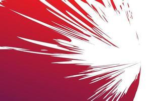priorità bassa rossa astratta del colpo della spazzola dell'acquerello vettore
