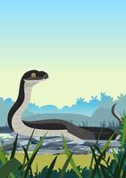 Serpente nero vettore