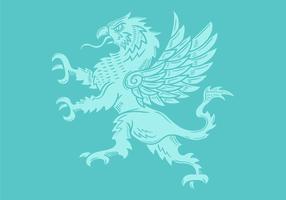 stemma del grifone vettore
