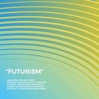 Sfondo vettoriale di futurismo