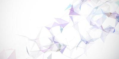 design astratto banner low poly vettore