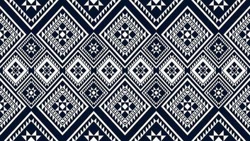 fondo di progettazione tradizionale del modello etnico geometrico vettore