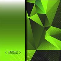 disegno astratto geometrico liscio elegante sfondo verde vettore