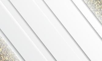 vettore sfondo bianco astratto. elegante concept design vettoriale. trama con decorazione elemento puntini argento luccica.