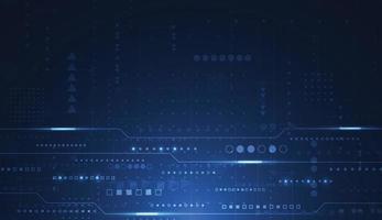 disegno di sfondo digitale tecnologia astratta. illustrazione vettoriale
