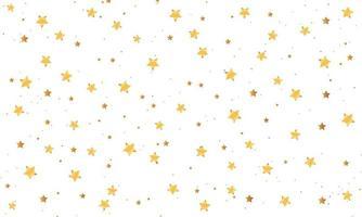 elegante sfondo di stelle d'oro vettore