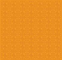 modello di cactus messicano su un disegno vettoriale sfondo arancione