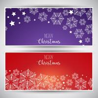 Banner di Natale vettore
