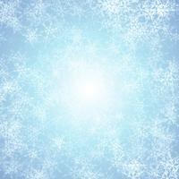Sfondo di Natale con effetto ghiaccio