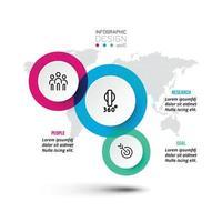 progettazione del modello di infografica aziendale o di marketing. vettore