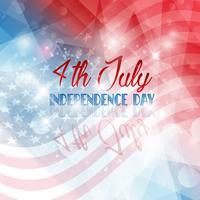 Sfondo del giorno dell'indipendenza vettore