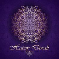 Sfondo decorativo per Diwali vettore