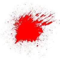 Sfondo di sangue splatter vettore