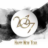 grunge felice anno nuovo sfondo 0112 vettore