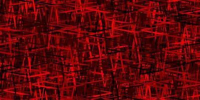 modello vettoriale rosso scuro con bastoncini ripetuti.
