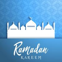 Decorative background for Ramadan vettore