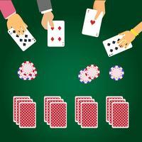 Illustrazione vettoriale di carta da gioco