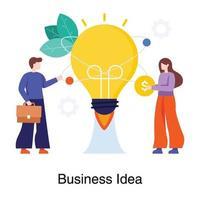 concetto di squadra idea imprenditoriale vettore