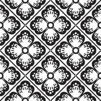 mandala fiore. elementi decorativi vintage. modello orientale, illustrazione vettoriale. vettore