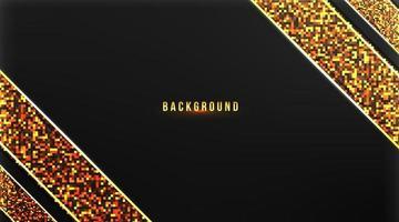 astratto sfondo premium con oro su sfondo scuro illustrazione vettoriale