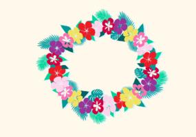 Illustrazione vettoriale gratis di hawaiano Lei