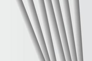sfondo geometrico bianco. composizione di forme geometriche fluide. vettore