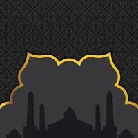 sfondo di ramadan kareem. eps 10 illustrazione vettoriale