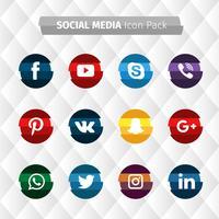 Raccolta di social media a strisce
