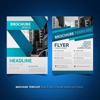 modello di volantino design brochure