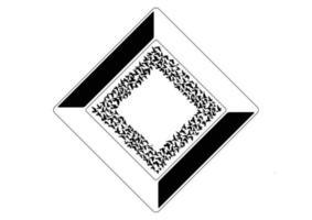 forma di simbolo di sagome di uccelli volanti su sfondo bianco. illustrazione vettoriale. volo dell'uccello isolato. disegno del tatuaggio. vettore