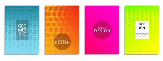 copertina moderna sfondo astratto design vettore