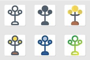 icona della lampada in isolati su sfondo bianco. per il design del tuo sito web, logo, app, ui. illustrazione grafica vettoriale e tratto modificabile. eps 10.
