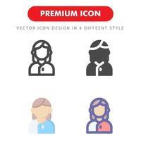 pacchetto di icone di ricezione isolato su priorità bassa bianca. per il design del tuo sito web, logo, app, ui. illustrazione grafica vettoriale e tratto modificabile. eps 10.