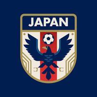 Distintivi di calcio della Coppa del Giappone vettore