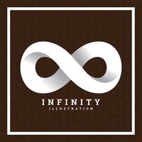 Illustrazione di infinito vettore