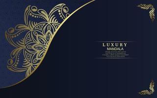 sfondo mandala ornamentale di lusso con stile arabo islamico orientale modello premium vettore