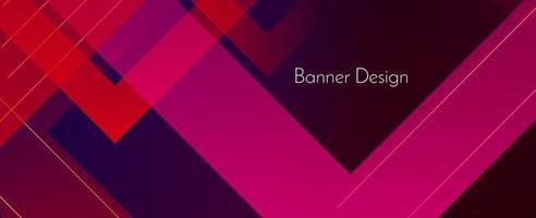 astratto scuro geometrico colorato moderno banner decorativo design sfondo vettore