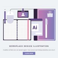 Elementi ed elementi del Designer Vector