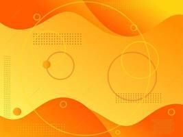 sfondo elegante moderno giallo arancione astratto vettore
