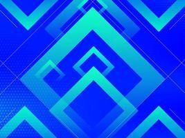 fondo moderno blu del modello di pendenza geometrica astratta vettore
