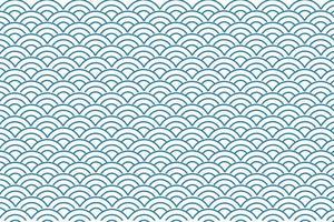 onda oceano seamless pattern vettore