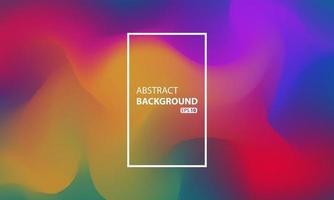 sfondo liquido astratto per la progettazione della tua pagina di destinazione. sfondo per i progetti di siti Web. modello moderno per poster o banner. vettore