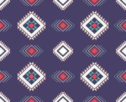 disegno tradizionale del modello etnico geometrico per sfondo, moquette, carta da parati, abbigliamento, involucro, batik, tessuto, pareo vettore