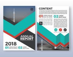 Progettazione di layout flyer aziendali multiuso. Adatto a
