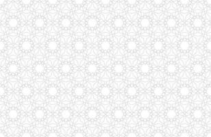 Fondo senza cuciture del modello arabo in stile islamico. sfondo geometrico ornamento musulmano. illustrazione di carta da parati eps10 vettoriale