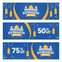 banner di strumenti di marketing eid vettore