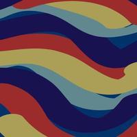 sfondo di bande di colore blu navy e rosso vettore