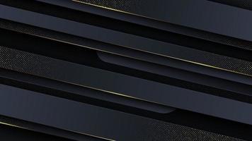 sfondo astratto di lusso con finiture in glitter oro. vettore