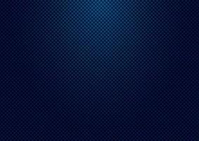 fondo e struttura di griglia del modello quadrato blu scuro a strisce astratti con illuminazione. vettore