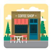 Caffetteria vettore